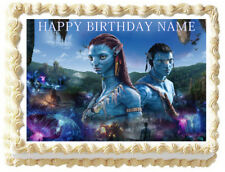 AVATAR Image Edible Cake topper Party decoration