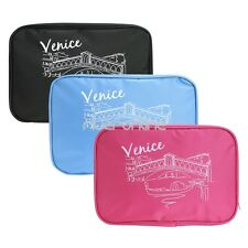 Makeup Travel Storage Bag Cosmetic Jewelry Hanging Toiletry Case Organizer Pouch