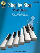 Step by Step Piano Course, Book 6 [With CD (Audio)] 9781423436102