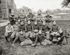 Georgetown Football Photo, early 1900s, Giclee Fine Art Photo Print Georgetown U