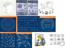 Clarity Stamps Groovi - Choice of Parchment Plates, Stamps, DVD, Stencil, Mask