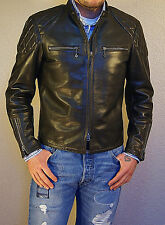 Thedi x Thurston Buco J-100 Cafe Racer Dark Brown Horsehide Leather Jacket