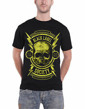 Black Label Society T Shirt Worldwide Est 98 Skull Logo Official Mens New Black