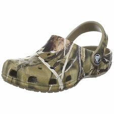 New Boys/Youth Crocs Classic Kids' Realtree v2 Clogs Sandals Shoes Size 1, 3