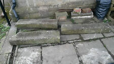 Yorkshire stone door step,lintel ,barn conversion,stone sculpture x3