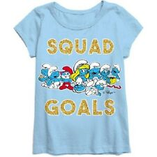 Smurfs Girl Short Sleeve girls t-shirt NWT Size XS 4-5