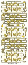 Kids Happy Birthday Graffiti Style Peel Off Stickers Gold Silver Black Craft