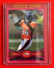 2012 Topps #283 Pink Variation 005/399 Ronnie Hillman Rookie Card