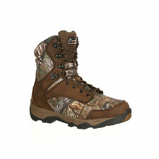 Rocky Mens Realtree Xtra Leather Retraction WP 800G Hunting Boots
