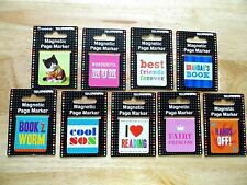 Magnetic Page Markers Bookmarks For Books Various Page Marker Bookmark Designs