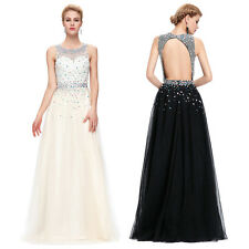 Long Bridesmaid Dresses Evening Party Wedding Cocktail Prom Ball Gown Dress New☇