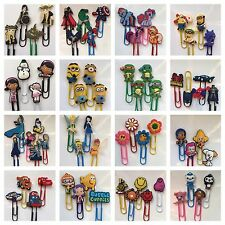 CHARACTER PAPERCLIP BOOKMARKS (4 PK)~FROZEN/MY LITTLE PONY~PARTY BAG FILLERS