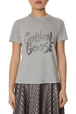 Golden Goose T-Shirt Sweatshirt % MADE IN ITALY Woman Greys G30WP0261A4-