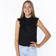 Ava And Ever Girls Abbey Road Shirt in Black