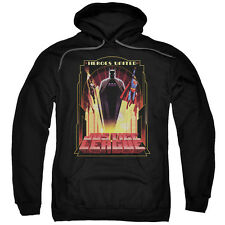 Justice League Art Deco HEROES UNITED Licensed Sweatshirt Hoodie