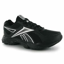 Reebok Transition Mens Running Shoes Trainers Blk/Sil Sneakers Sports Footwear