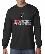 New Way 041 - Long-Sleeve T-Shirt Beer & Fishing What Else Is There?