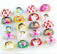 Lot Lovely Mix Resin Popular Cartoon Girls Children Rings Wholesale Jewelry R125
