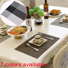 Kitchen Slip-resistant Waterproof Dining Table Disc Pad Coasters Bowl Placemat