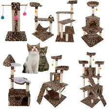 "New 20""-72"" Cat Tree Tower Condo Furniture Scratching Post Pet Kitty Play House"