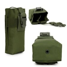 Outdoor Mutifunction Molle Radio Walkie Talkie Pouch Water Bottle Cage Bag Case