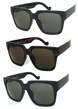 1 or 2  Pair Inspired Mens Womens High Fashion Oversized Large Square Sunglasses