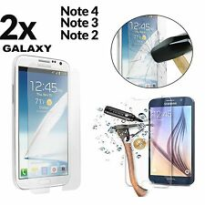 2x Anti Scratch Tempered Glass Screen Protector For Samsung Galaxy Note 4 3 2