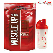 MUSCLE UP PROTEIN 700g + FREE SHAKER - Whey Protein Powder Musle Growth Abanolic