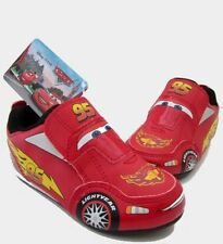 boys disney pixar cars LIGHTNING MCQUEEN knockhill trainers kids boys shoes