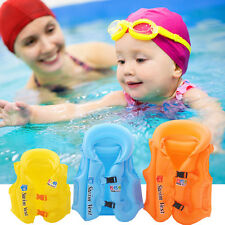 Inflatable Swimming Pool Vest Children Kids Float Aid Jacket Baby Training Water