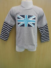 Boys Grey and Blue Official London 2012 Long Sleeved T-Shirt - Various