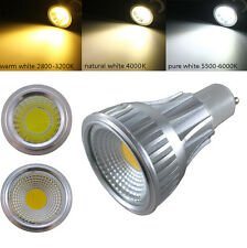 E27 GU10 GU5.3 MR16 12W COB LED Lamp WARM NATURAL Cool WHITE Spot Light Bulb
