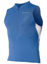 ORCA 226 TRI POCKET SINGLET - MEN, BLUE, ALL SIZES AVAILABLE, NEW! Reg $110