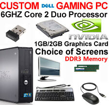 DELL GAMING PC 6GHZ DESKTOP 1TB 8GB COMPUTER TOWER WINDOWS 10 NEW GFX HDMI