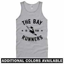 The Bay Area is for Runners Unisex Tank Top - Men Women XS-2X - RUN BAY Running