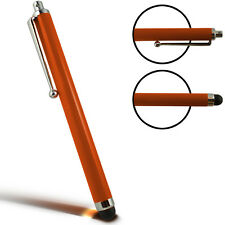 Pro Universal Capacitive Long Metal Stylus Pen for Touchscreen Phones✔ORANGE