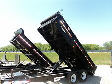 NEW PJ 14' HEAVY DUTY DUMP TRAILER #1 SELLING DUMP *BEST DEALS @ DR TRAILER