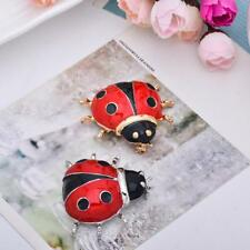Cute Lady Bird Beetle Brooch Pin Animal Insect Lover Jewelry Fashion