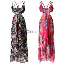 2 Pieces of Women Maxi Dress and Floral Head Band Set,6 Sizes