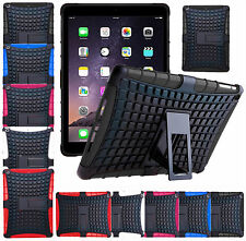 Shockproof Kickstand Heavy Duty Hard Military Survivor Case Cover For Apple iPad