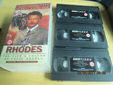 BBC Rhodes The Life & Legend Of Cecil Rhodes starring Martin Shaw VHS    (V3)