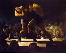 Classic boxing art print: Club Night by George W. Bellows
