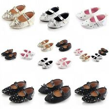Kids Baby Girl Princess Shoes Fashion Toe Style Soft Sole Party Shoes 0-18M