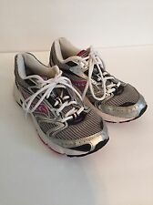 Women's Saucony Oasis 2 Silver/Black/Pink  Running Shoes - Size 8.5