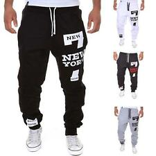 Mens Jogger Dance Sportwear Baggy Harem Pants Casual Slacks Trousers Sweatpants