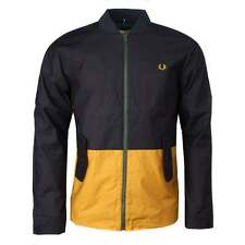 Fred Perry Fred Perry Bradley Wiggins Navy Colourblock Jacket | Size L