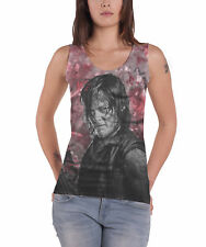 The Walking Dead Vest Daryl Blood Stain new Official Womens Sub Dye