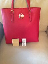 NWT Michael Kors Jet set Travel Large NS Tote Saffiano Leather Bag Retails: $249