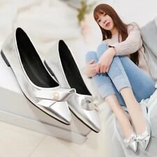 2017 Womens Pointed Slip On Low Top Shoes Ballet Flats Casual Fashion Pumps