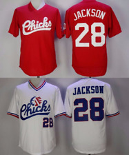 Bo Jackson #28 Memphis Chicks Minor League Baseball Jersey Retro White Red S-3XL